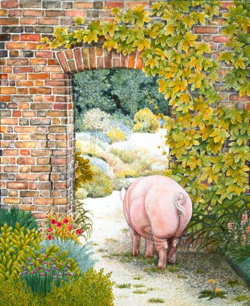 The Convent Garden Pig