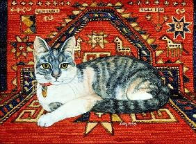 First Carpet-Cat-Patch, 1992