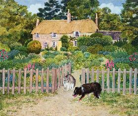 Bathsheba''s cat, from ''Far from the Madding Crowd'', by Thomas Hardy, (Chapter 4)
