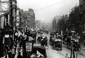 High Holborn, London, c.1890 (b/w photo)