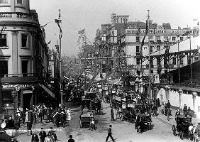 The Strand, London with Jubilee Decorations