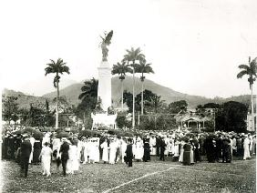 Unveiling of War Memorial, Port of Spain, Trinidad