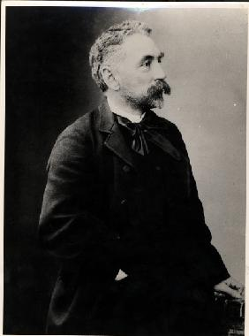 Stephane Mallarme (1842-98) (b/w photo)