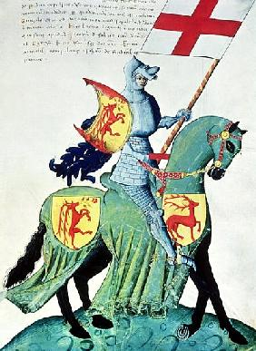 A Knight Carrying the Arms of Verona, from the ''Codex Capodilista''
