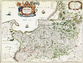 East Prussia , Map