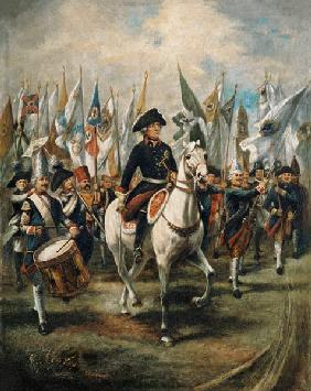 Frederick the Great , Potsdam