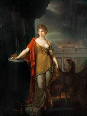Queen Louise as Hebe