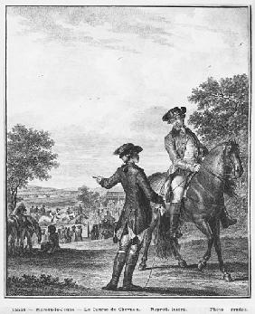 The horse race; engraved by Heinrich Guttenberg (1749-1818) c.1777