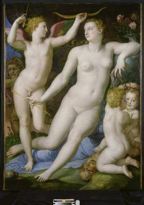 Venus, Amor and the jealousy