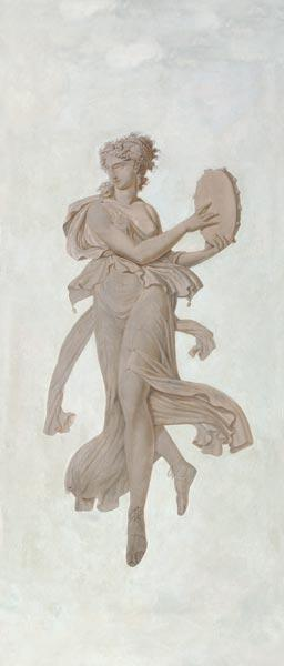 Dancer with tamburine / Louis Lafitte