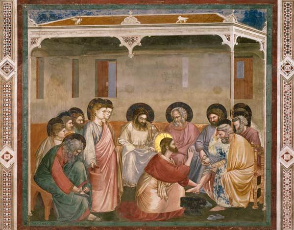 Washing of the Feet / Giotto / 1303/05
