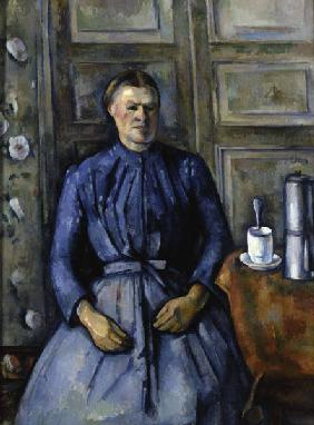P.Cezanne / Woman with coffee pot