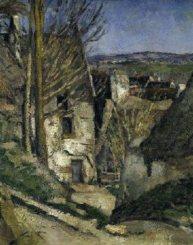 P.Cezanne / House of the hanged / Detail