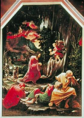 The Agony in the Garden, from the St. Florian Altarpiece