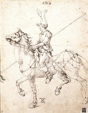 Lancer on Horseback