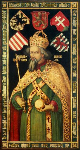 Emperor Sigismund, Holy Roman Emperor, King of Hungary and Bohemia (1368-1437)