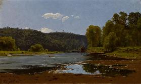 Landscape, 1890 (oil on canvas)