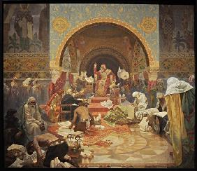 The Bulgarian Tsar Simeon (The cycle The Slav Epic)