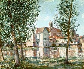 The Loing at Moret, September Morning