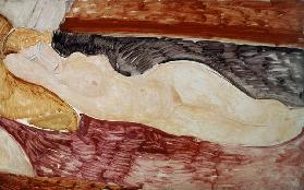 A.Modigliani, Reclining act