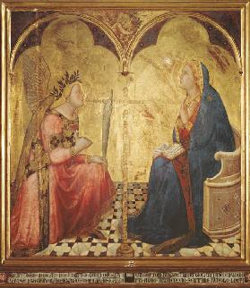 Lorenzetti , Annunciation to Mary