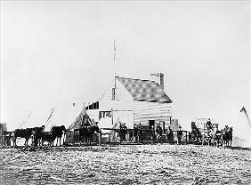 Headquarters of Sanitary Commission, Brandy Station, Virginia