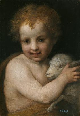 John the Baptist as child