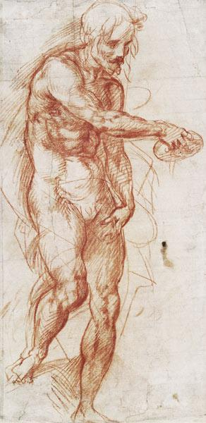 Saint John the Baptist (Study)