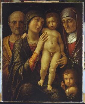 The Holy Family with Elisabeth and the Johannesknaben