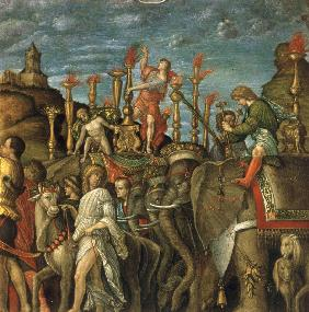 from Mantegna, Triumph of Caesar, eleph.