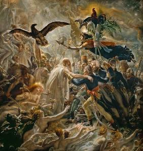 The Apotheosis of the French Heros Who Died for Their Country During the War for Freedom