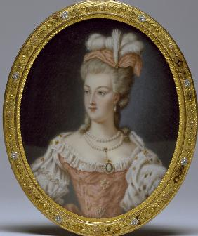 Portrait of Queen Marie Antoinette of France (1755-1793)