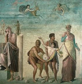 The Sacrifice of Iphigenia, from the House of the Tragic Poet, Pompeii