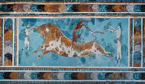 The Toreador Fresco, Knossos Palace,Crete