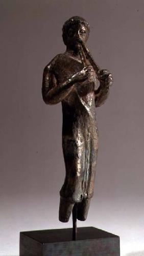 Statuette of a Musician with a Flute