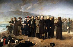 Execution of Jose Maria de Torrijos y Uriarte (1791-1831) and his Companions in 1831