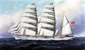 The East African in Full Sail