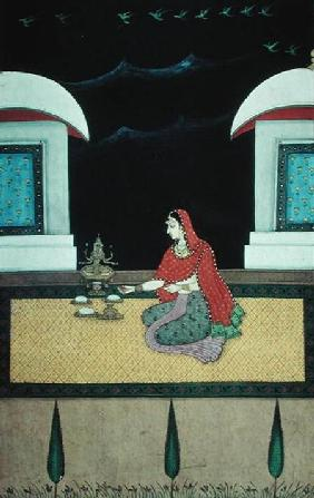 Woman Seated on a Rug