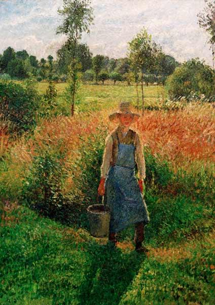 The gardener, after-midday sun, Eragny