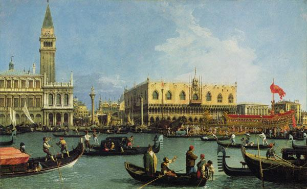 Return of the Buccintoro, Venice 1732