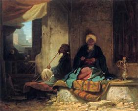 In the Turkish bazaar