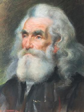 Portrai of an Old Man (pastel)