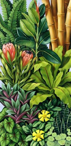 Foliage III, 2005 (oil on canvas)
