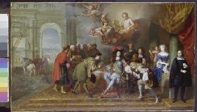 Louis XIV. receives one sent