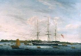 The Honourable East India Company's 'The Earl of Balcarras' at Canton