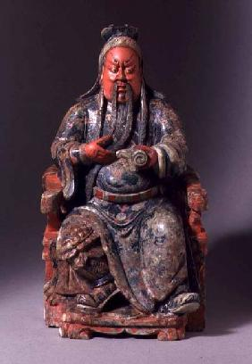Seated Figure of the God of War