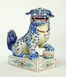 A Kakiemon Model Of A Karashishi