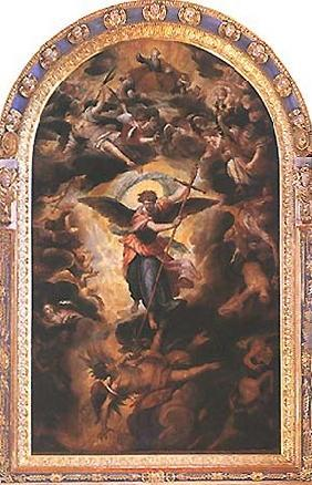 Angel fall (high altar of St. Michael)