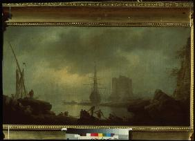 View of the Sea. Mist