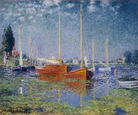 The red boats, Argenteuil